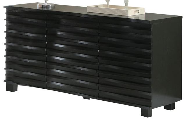 Coaster Stanton Server, Black.