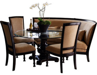 High Quality Round Banquette Dining Sets Room Ideas