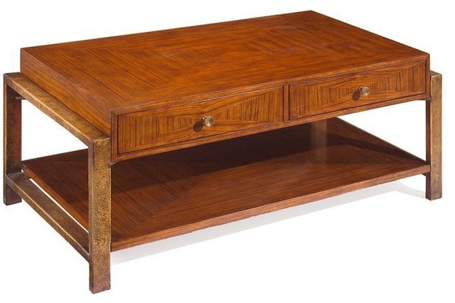 John Richard Azur Cocktail Table Transitional Coffee Tables By Unlimited Furniture Group