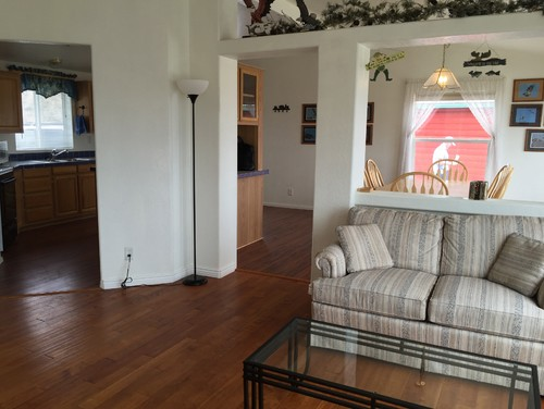 The Room Is 192 Long Sofa Wall To And 1310 Wide Fireplace Window Half Between Living Kitchen 8 Feet
