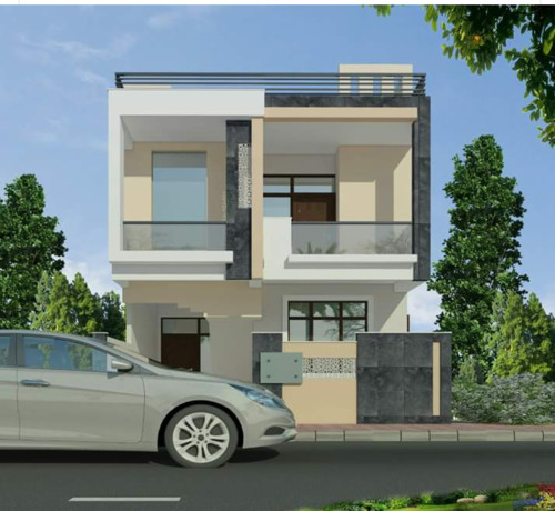 Front Elevation Design For 20 Feet : Front elevation house