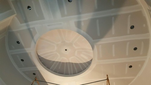 Round Foyer Light Placement