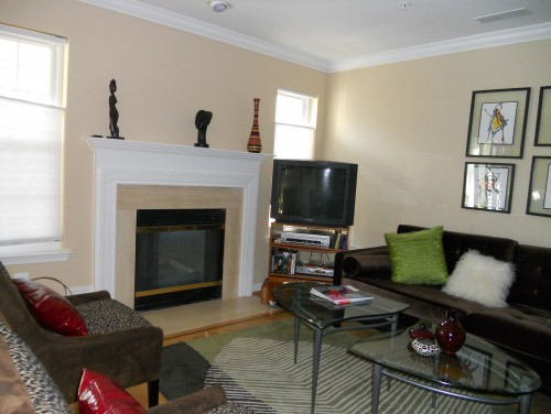 Small Living Room With Fireplace And Tv i have two dilemmas - my fireplace and my tv. i have a relatively