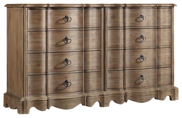 Corsica Eight Drawer Dresser.
