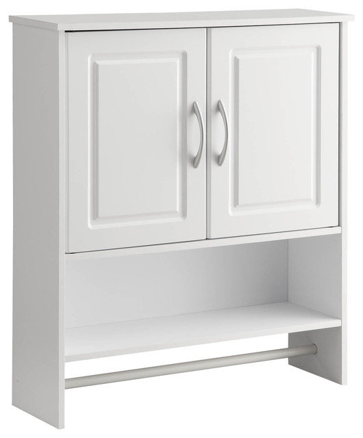 Hanging Wall Cabinet michael anthony 2-door hanging wall cabinet - contemporary