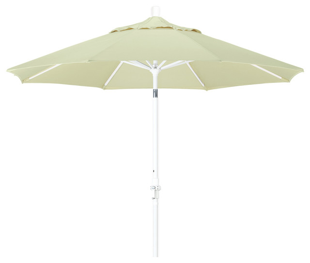 Crank Lift Collar Tilt Patio Umbrella