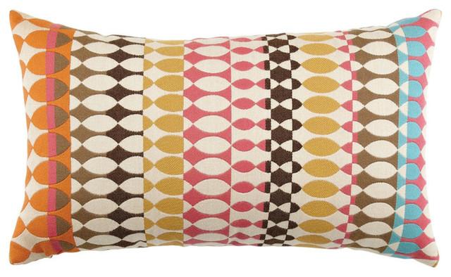 Elaine Smith Modern Oval Candy Lumbar Pillow