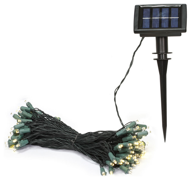 Vickerman 50 Warm White Wide Angle Led Solar Light Set.