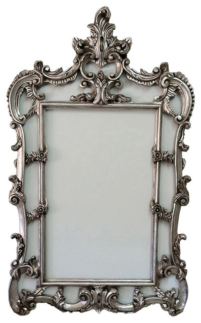 Silver Baroque Frame French Style Traditional Picture