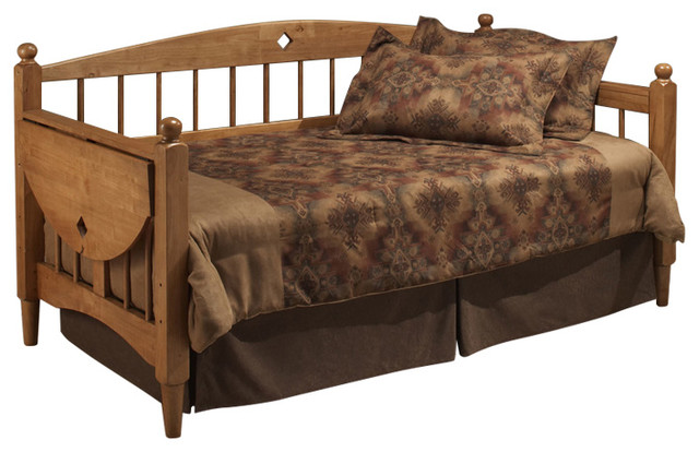Dalton Daybed W/suspension Deck And Trundle - 1393dblhtr.