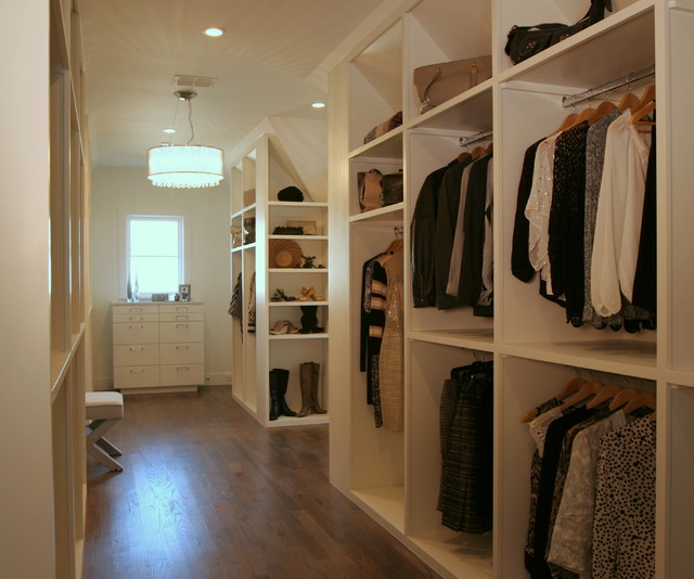 San carlos her master closet contemporary closet for Closets by design dallas