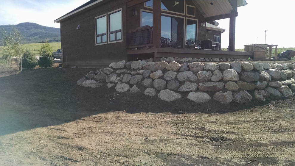 Custom Home in Stagecoach
