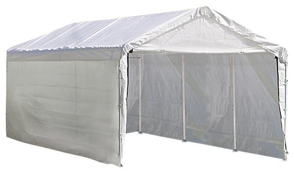 Super Max 2-In-1 10&x27;x20&x27; 4, Rib Canopy With Enclosure Kit.