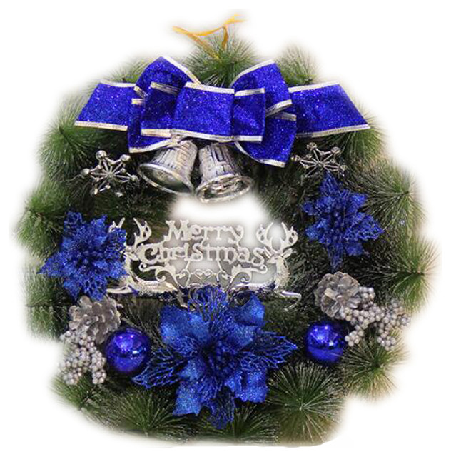 Festival Ornaments Beautiful Christmas Wreath Nice Indoordecoration.