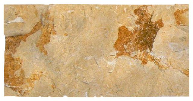 """Jerusalem Gold Split Face 6""""x12""""x3/4""""."""