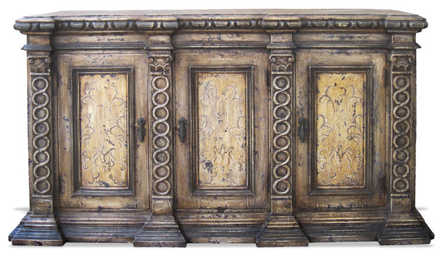 Mediterranean Old-World Sideboard - Mediterranean - Buffets And Sideboards - by Lutina Old World ...