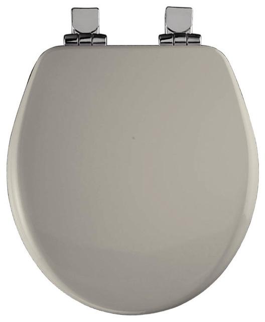 Bemis Bemis 9170CHSL 000 Wood Round Slow Close Toilet Seat Toilet Seats H