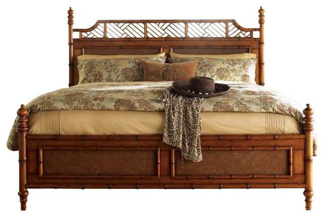 Good Tommy Bahama Home Island Estate West Indies Bed, Queen