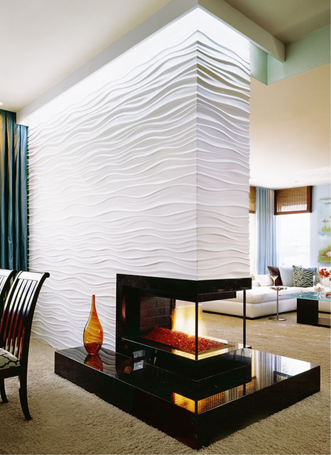Robeson Design Modular Arts Fireplace - Contemporary - San Diego