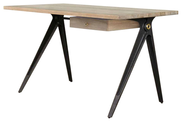 compass desk desks and hutches by old bones co