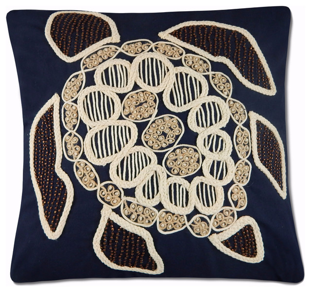 Nancy Pillow Cover Navy.
