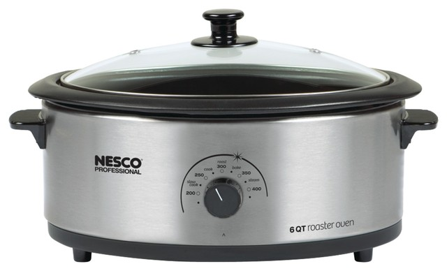 Nesco Countertop Oven : ... Nesco Nesco 6-Quart Nonstick Roaster Oven - Electric Roaster Ovens
