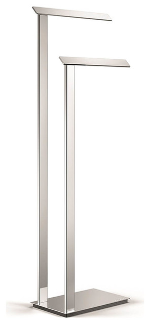 WS Bath Collections Ranpin 5115 Bathroom Towel Holder Stand, Stainless Steel  Contemporary Towel
