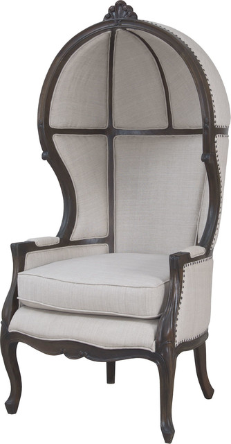 King Chair, Heritage Gray Stain.