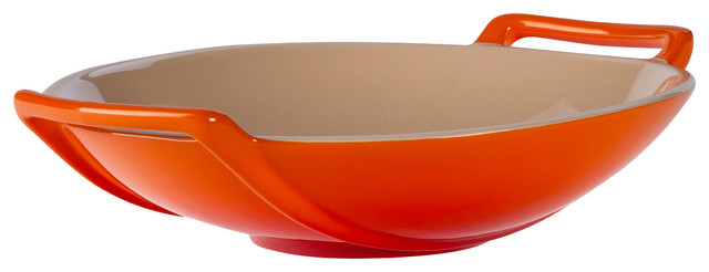 Le Creuset Of America Stoneware Wok Dish 28 Ounce