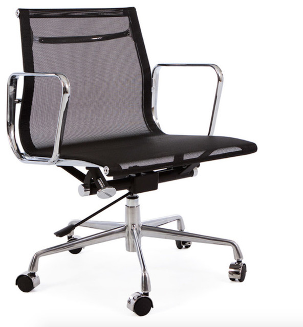 Midcentury Modern Mesh Office Chair Contemporary Office Chairs