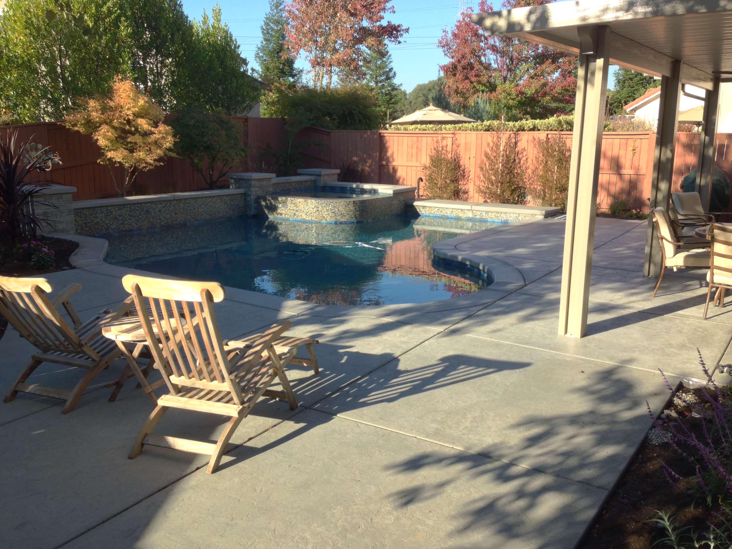 Small Granite Bay Pool/Spa