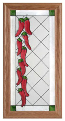 Stained Glass Chili Hot Peppers