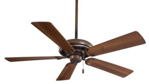 52 Supra Ceiling Fan, Belcaro Walnut.
