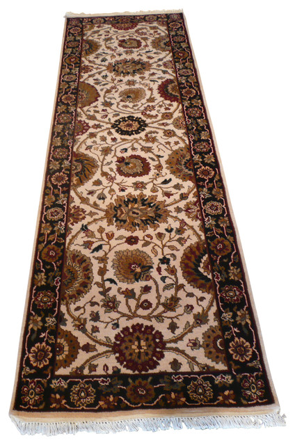 2 39 7x7 39 10 Agra Runner Rug Traditional Hall And Stair