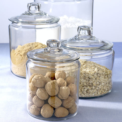 Airtight Kitchen Canisters | Do These Apothecary Jars Have Gasket Seals Making Them Air Tight