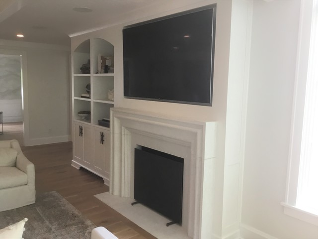 Inspiration for a family room remodel in Indianapolis