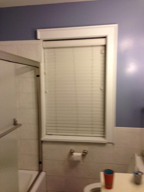 Bathroom Window Encroaching In Tub Space   Remodeling Challenge