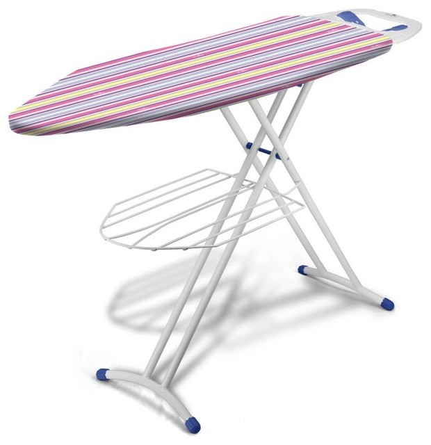 Bonita Pride Ironing Board, Trendy Stripes.
