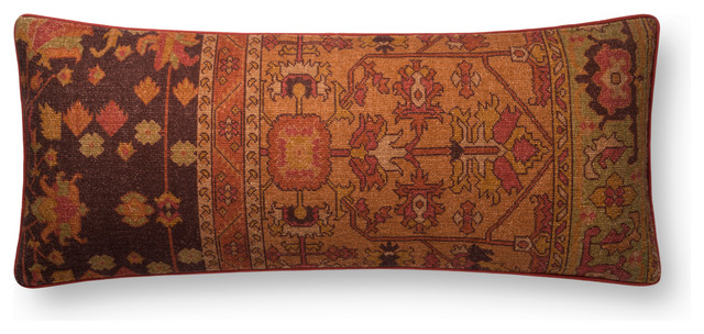 Loloi Rust Color 13  x35   Pillow Cover