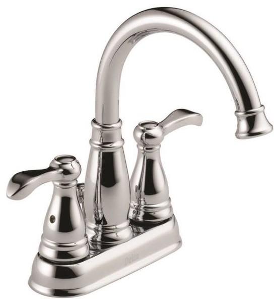 Faucet Lavatory 2 Handle Ctrst Chrome