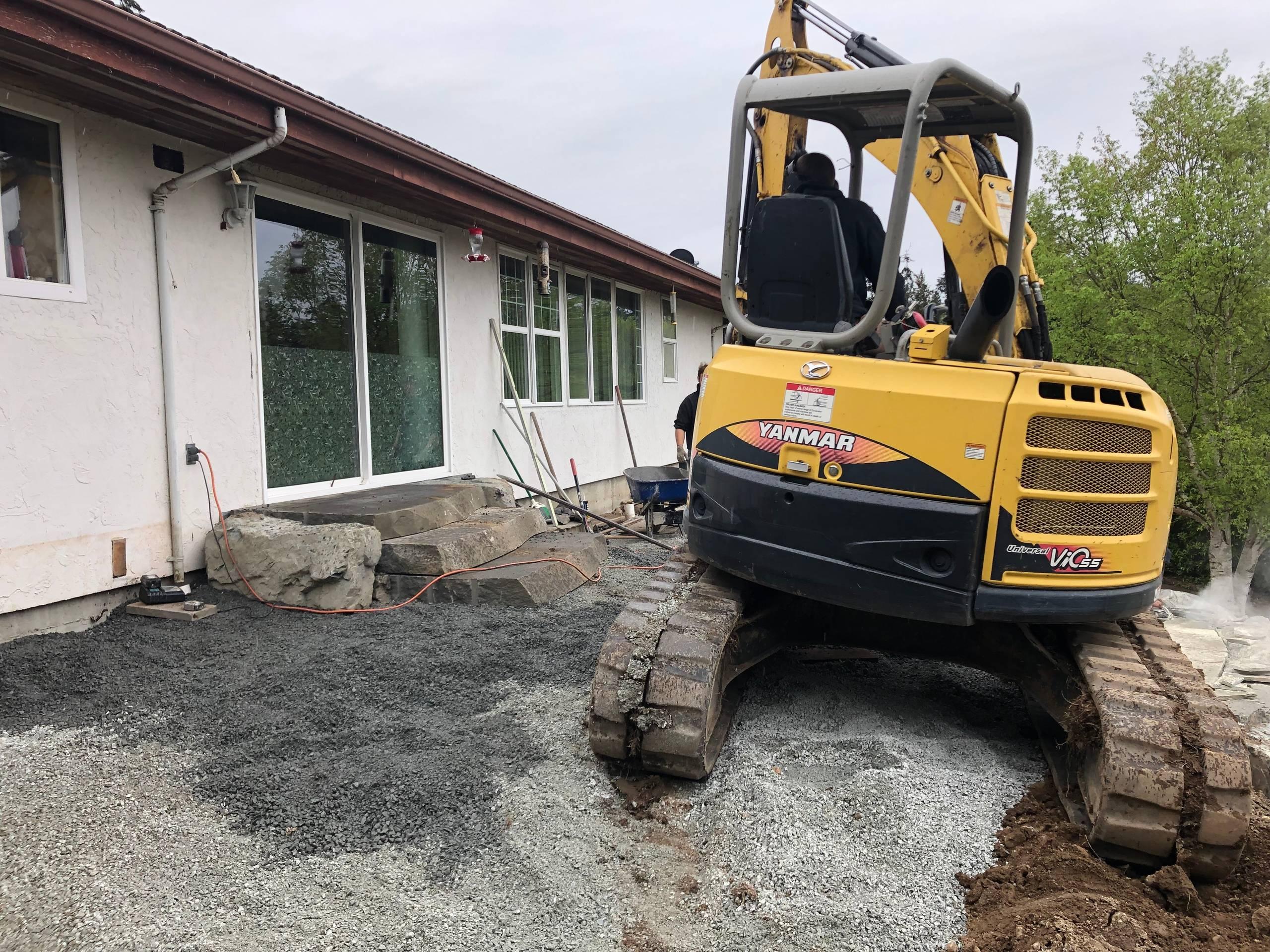 Stone Step Construction
