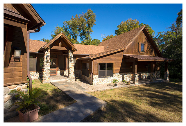 College Station Remodel Rustic Exterior Other By