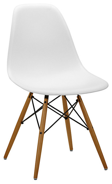 Vitra Eames DSW Side Chair Midcentury Dining Chairs  : midcentury dining chairs from www.houzz.co.uk size 390 x 640 jpeg 34kB