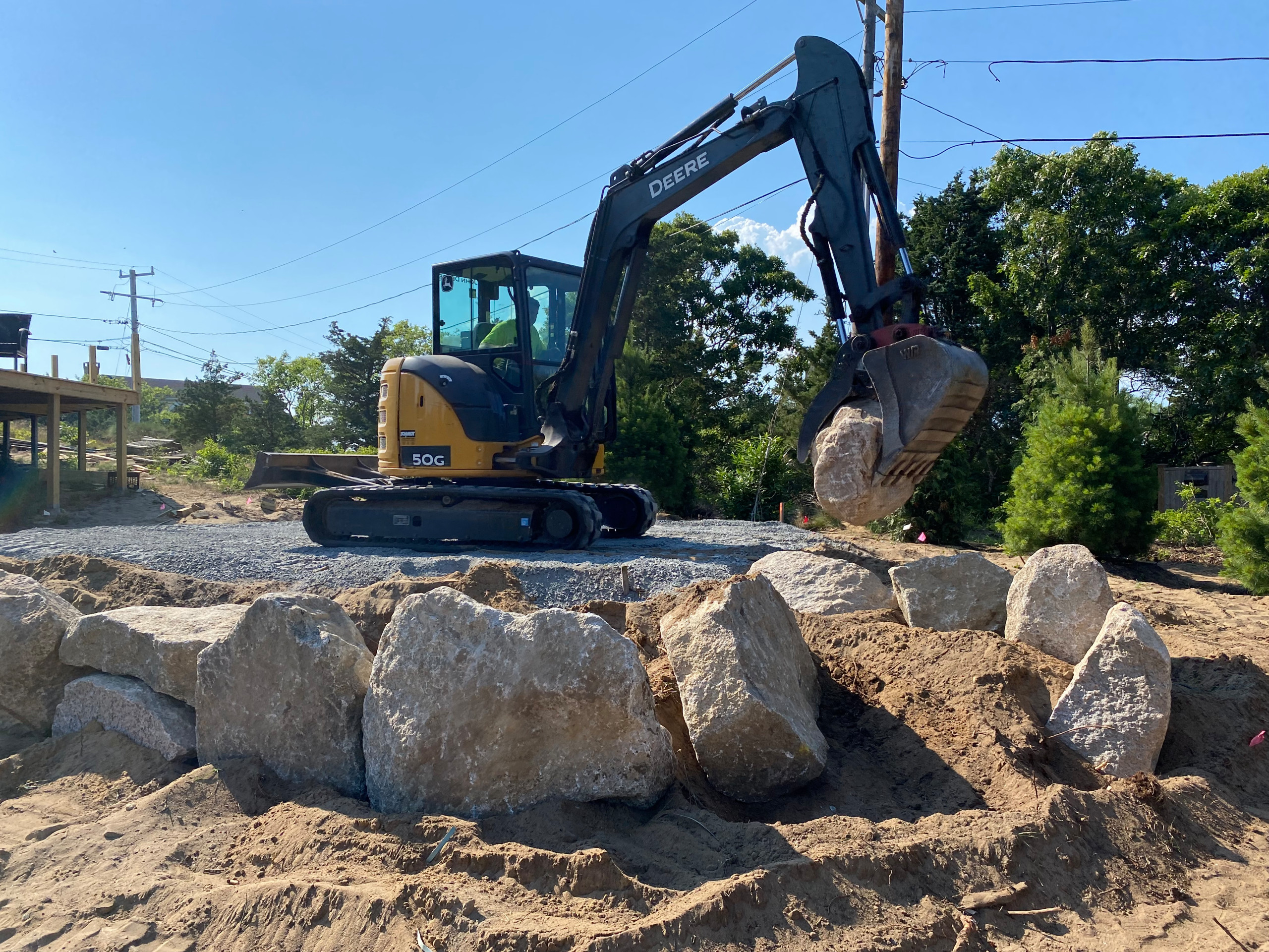 Eastham Raised Stone Patio