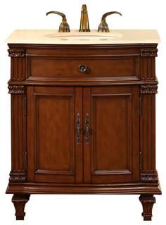 """Layne Single Sink Bathroom Vanity, 30.5"""""""