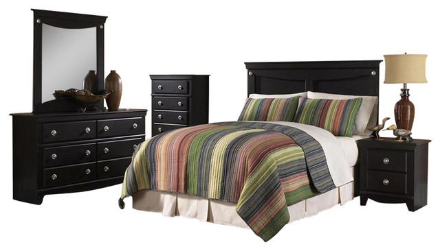 Southampton 5-Piece Bedroom Suite, Queen.