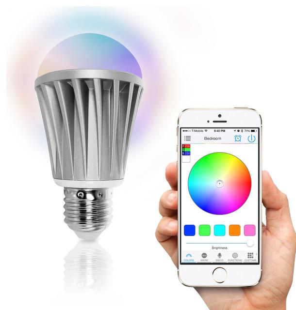 FluxSmart WiFi Smart LED Light Bulb (Smartphone Controlled)