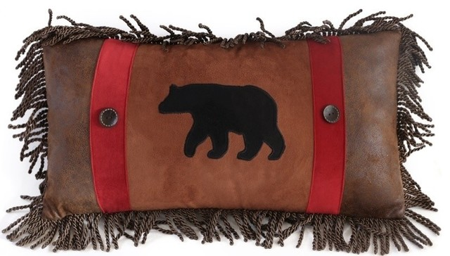 Rambling Bear Pillow.