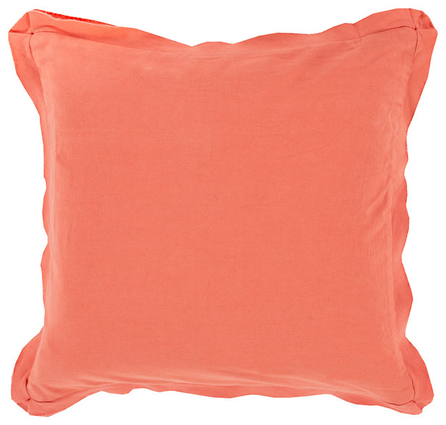 Modern Square Pillow Pull : Square Cotton Pillow TF-010 - Contemporary - Decorative Pillows - by zopalo