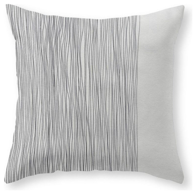 "D24 Throw Pillow Cover, 16""x16"" With Pillow Insert."